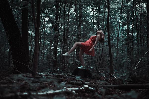 Best Buy DTP Dame in het bos