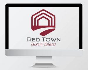 Best Buy DTP Logo Red Town